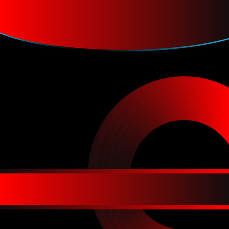 Black and red background vector for text message for design Vector