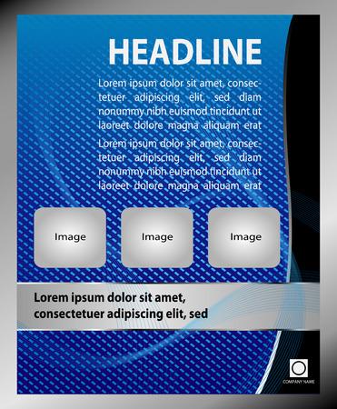 coworker banner: Vector dental brochure flyer magazine cover  poster template Illustration