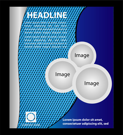 Vector Flyer Magazine Cover  Poster Template Vector