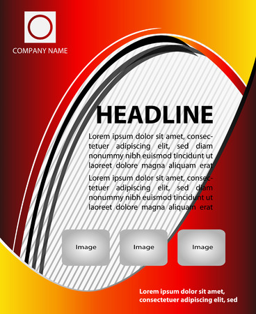 poster template: Vector Flyer Magazine Cover Poster Template Vettoriali