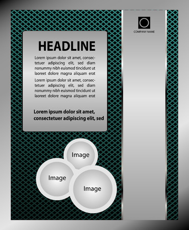 broshure: Business flyer design broshure cover template