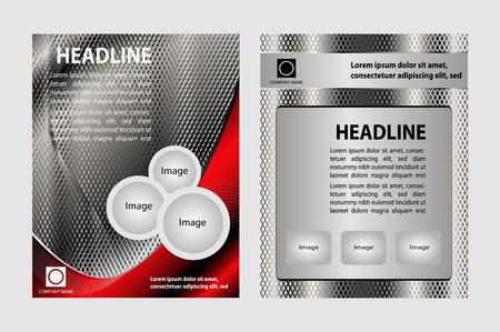 modern brochure design set Vector