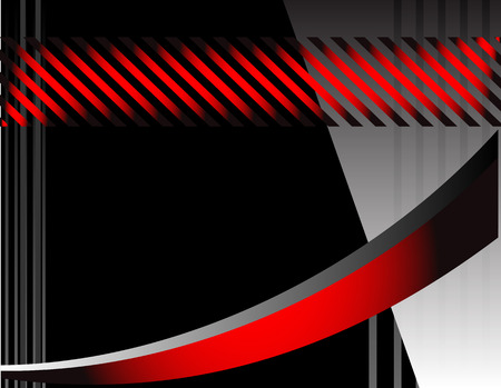 Red background line background design. message board for text and message design Vector