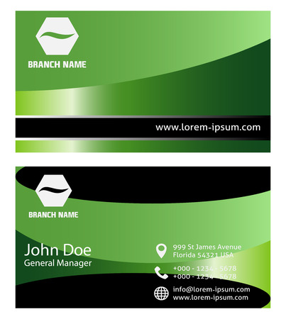 visitekaartje: Business Card Set