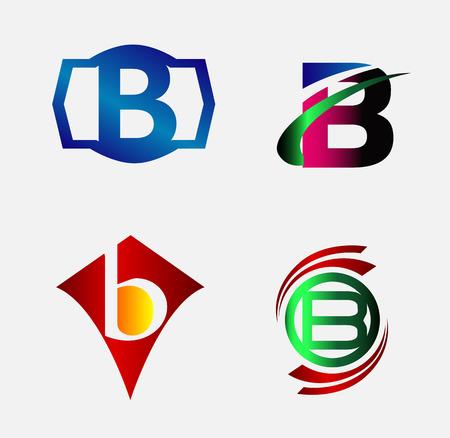 b: Letter B alphabet