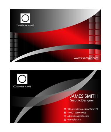 sophisticate: Luxury business card Illustration