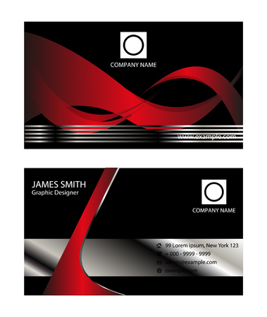 flexible business: Corporate Business card