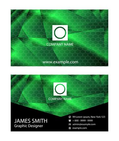business card: Business card vector