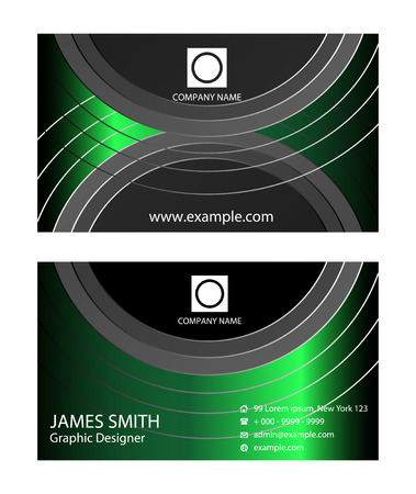 copy paste: Various business cards Illustration