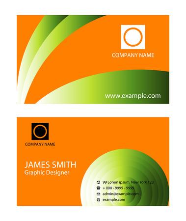 business card: Modern Business Card Set