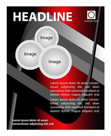 Broschüre Flyer Hintergrund