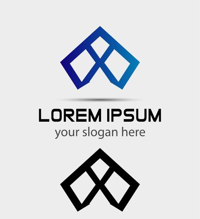 xy: Letter X icon logo design template