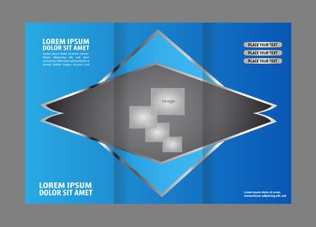 coworker banner: brochure template