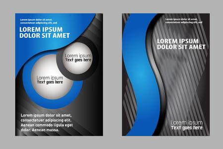 backgrounds: business corporate backgrounds flyer Illustration