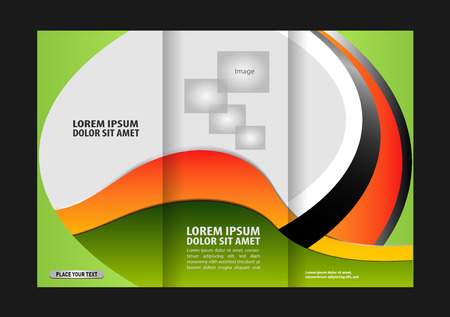 for print: Professional business flyer template design for print, publishing