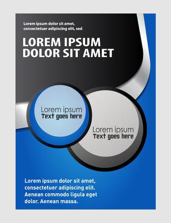 layout: Vector Brochure Flyer design Layout