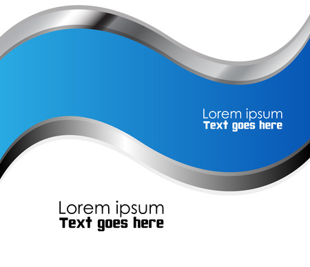overlap: Vector background curve line on space overlap layer graphic for text and message modern artwork design