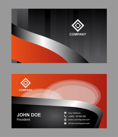 setter: Abstract business card