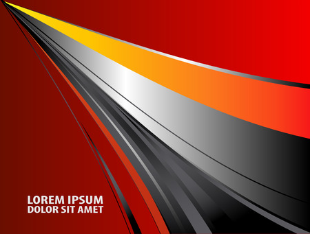 message board: Red paper background overlap dimension vector illustration message board for text and message design modern website