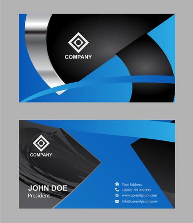 Modern simple luxury standard business card design with sharp modern simple luxury standard business card design with sharp corners stock vector 56239653 colourmoves