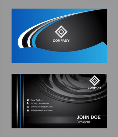 business cards: Business cards Illustration