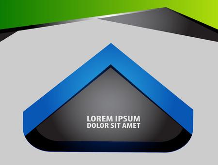 green background: Green background Illustration