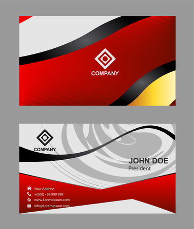 Business card template royalty free cliparts vetores e ilustraes 56266261 business card template reheart Image collections