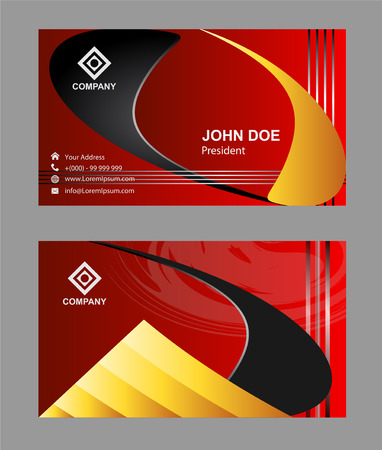 Red business card template royalty free cliparts vectors and stock red business card template stock vector 56150695 accmission Image collections