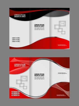 swish: Tri-Fold Corporate Business Store Mock up & Brochure Design