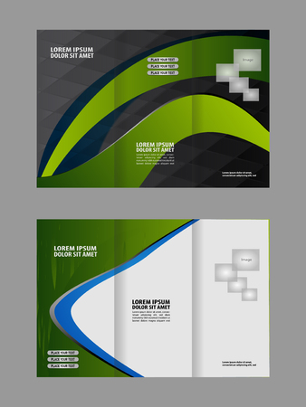 book publisher: Abstract vector background for brochure or leaflet Illustration