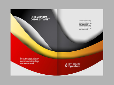 coworker banner: Professional business brochure design