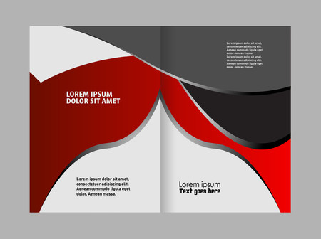 coworker banner: Professional business flyer, corporate brochure design template