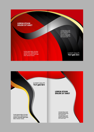 coworker banner: Stylish presentation of business poster, magazine cover, design layout template. Brochure or flyer