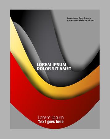 advertising design: Flyer design background