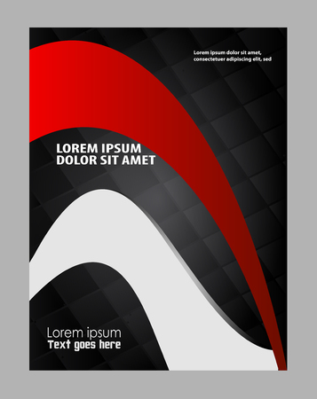 book publisher: Professional business design layout template or corporate banner design.