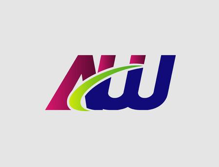 linked: AW company linked letter Illustration