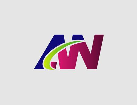 linked: AN company linked letter Illustration