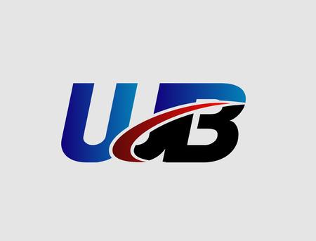 linked: WB company linked letter Illustration