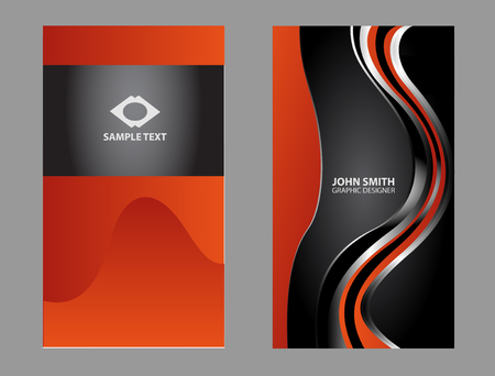 name calling: modern business card