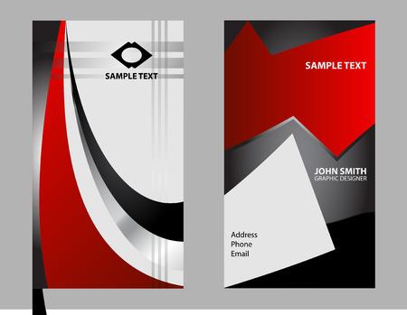 businesscard: Modern Business-Card Set