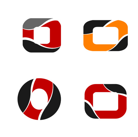 Unusual o Letters For Your Design Graphic Design Editable