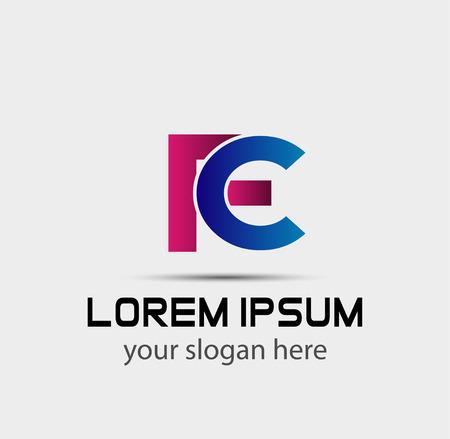 FC linked Letter company logo