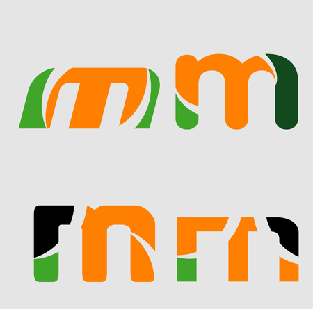 Alphabetical Logo Design Concepts Letter m