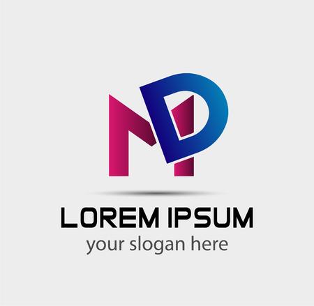 Letter DM linked company logo