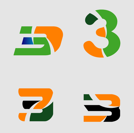 Number 3 vector logo template designmber three logologo royalty number 3 vector logo template designmber three logologo stock vector 72404553 maxwellsz