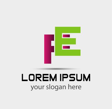 Letter FE linked company logo