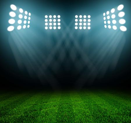 Licht des Stadions Standard-Bild - 29884352