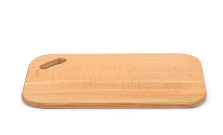 shelve: Wooden shelve isolated on white