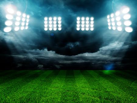 Licht Stadion Standard-Bild - 31330619