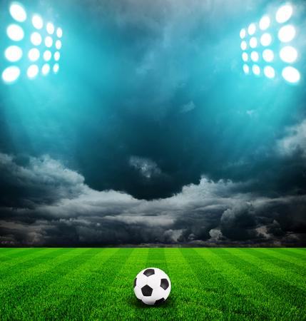 Licht des Stadions Standard-Bild - 31672338